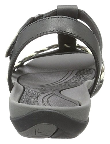 Clarks Tealite Grace, Salomés Femme Noir (Black Leather)