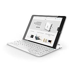 Anker Bluetooth Tastatur Die nächste Dimension für dein iPad. Das Konzept Vom Öffnen bis zum Schließen: Ein Produkt das einfach intuitiv ist. Öffnen des Covers schaltet sowohl dein iPad als auch die Tastatur ein (Schließen schaltet beide aus). Um mi...