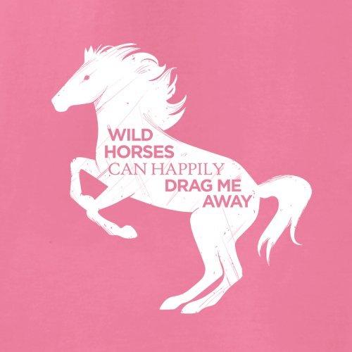 Wildes Pferd - Unisex Pullover/Sweatshirt - 8 Farben Rosa