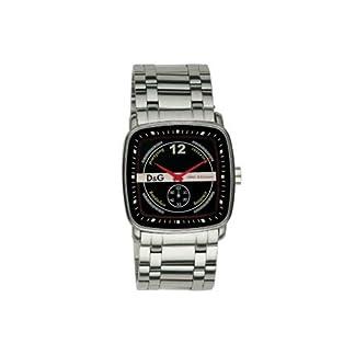 D&G Reloj analogico para Hombre de Cuarzo con Correa en Acero Inoxidable DW0052