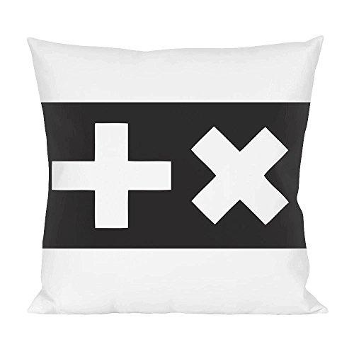 Martin Garrix Logo Kissen (Logo White House)