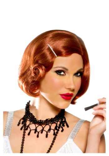Goddessey Pin Curl Cutie Wig, Natural Red by Goddessey