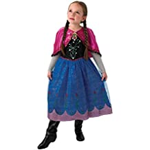 De Disney Frozen Anna Musical & Light Up - Childrens Disfraz - Medium - 132cm
