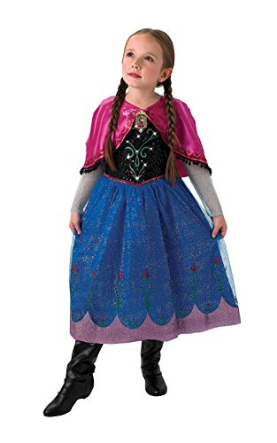 Rubie 's Disney Frozen Musical And Light Up Anna Kinder Kostüm – Groß