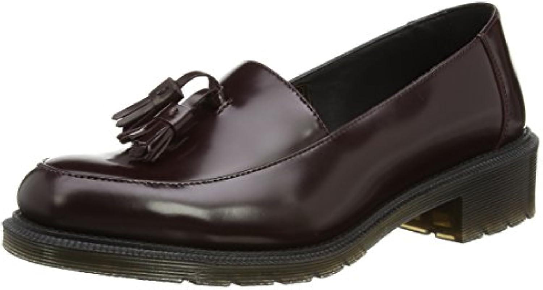 Dr. Martens Favilla Pol. Smooth - Zapatos Slip on de Cuero para Mujer