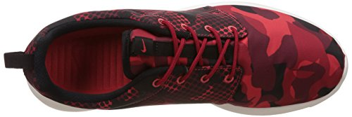 Nike Roshe One Print, chaussures de course homme Varios colores (Rojo / Negro (Daring Red / Black-Gym Red-Tm Rd))