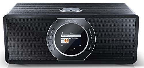 SHARP DR-I470 (BK) Stereo Internetradio/DAB, DAB+ Digitalradio,