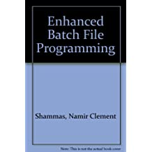 Enhanced MS-DOS Batch File Programming/Book and 2 Disk