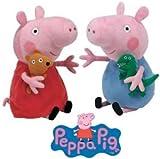 Ty Beanie Babies - Peppa Pig& George 15cm