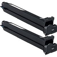 Doitwiser ® 2 Cartucce di Toner Colore Nero Compatibili con Konica Minolta BizHub C203 C200 C253 C253 C353 - TN213K A0D7152 - Rendimento: 24500 pagine (2 Pack)