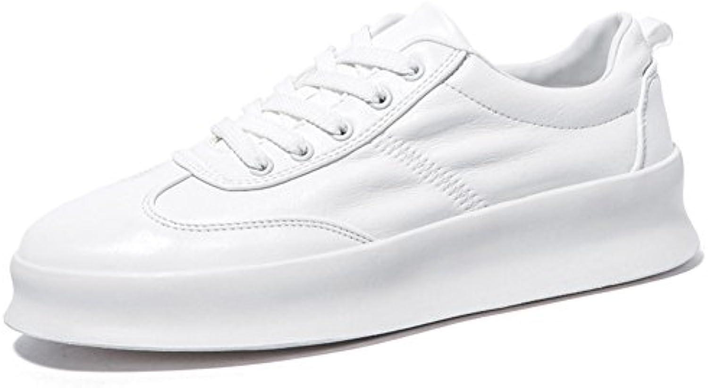 qidi souliers male couleur pure épais antidérapantes, bas respirable antidérapantes, épais les chaussures de sport (couleur: blanc, taille: eu40 / uk7) bfb9d9