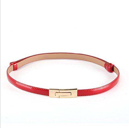 hippolo-lady-cintura-cintura-corsetto-di-semplice-vernice-cintura-con-fibbia-liscia-rosso