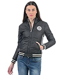 Pepe Jeans Women Casual Jacket(_8907557029565_Black_XXL_)