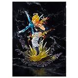 Bandai - Figurine DBZ - Gogeta Super Saiyan Figuarts Zero 17cm - 4549660192008