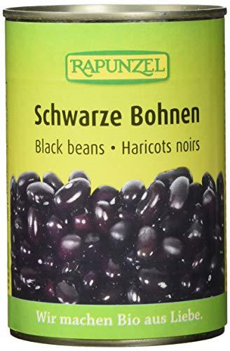 Rapunzel Schwarze Bohnen in der Dose, 6er Pack (6 x 400 g)