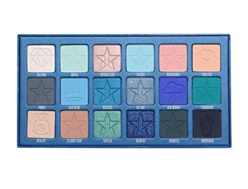 JEFFREE STAR COSMETICS BLUE BLOOD EYESHADOW MAKE UP PALETTER SOLD OUT NATIONALLY