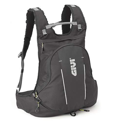GIVI EA104B Easy Bag Mochila de Cordura, Color Negro, Volumen 22-26 Litros, Carga Máxima 3 Kg