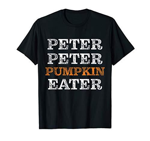 Peter Peter Kürbis-Esser-Halloween-Kostüm für Erwachsene T-Shirt