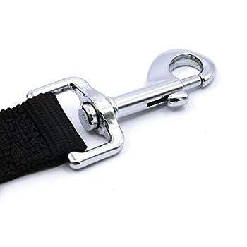 ThinkPet Laisse Ceinture de Sécurité,Laisse en Voiture,Réglable et Stable(Permettant58.4 - 96.5cm)pour Chien/Chat/Animaux de Compagnie pour les sièges de voiture