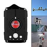 Sunwan - Rilevatore radar laser per auto, con rilevamento a 360 gradi, sistema di allarme vocale e allarme di velocità, modalità città/autostrada