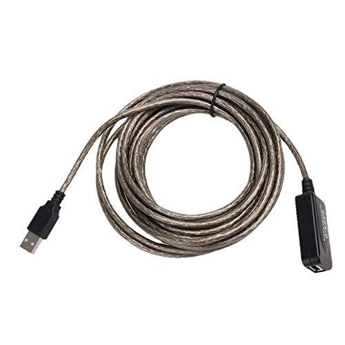 Ogquaton Premium 5M USB 2.0 Stecker auf Buchse Verlängerungskabel High Speed ??Wire Data Adapter Praktisch 5-wire-buchse