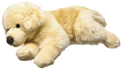 Living Nature Golden Retriever Dog soft toy. 35cm