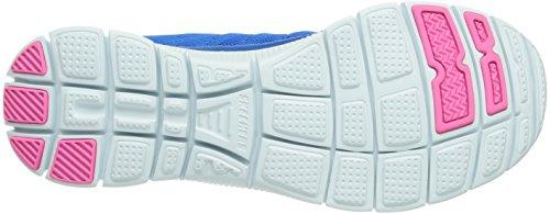 Skechers Flex Appealsweet Spot, Sneakers Basses Femme Bleu (Blhp)