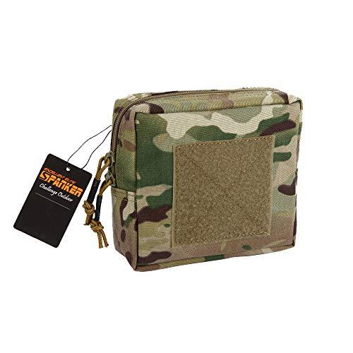 EXCELLENT ELITE SPANKER Outdoor Molle Square Kleinigkeiten Bag of Tactical Tools Aufbewahrungstasche(Camouflage) -