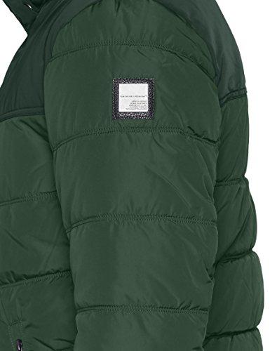 TOM TAILOR Herren Jacke Padded Jacket Grün (Explorer Green 7814)
