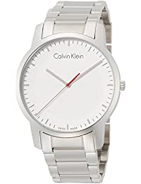 Calvin Klein Reloj Analogico para Hombre de Cuarzo con Correa en Acero  Inoxidable K2G2G1Z6 d3112723fd84