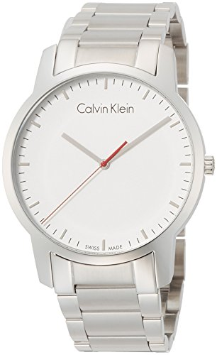 Calvin Klein Men's Analogue Quartz Watch with Stainless Steel Strap K2G2G1Z6