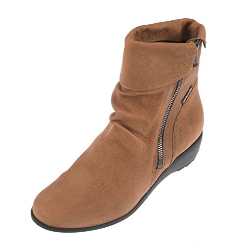 Mephisto Womens Seddy Greta Leather Boots Braun