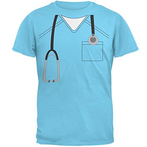 ween Arzt Himmel Erwachsenen T-Shirt-klein (Halloween-kostüm Scrubs)