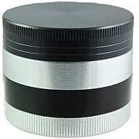 Generic qy-uk4–16feb-20–2330* 1* * 4280* * Alluminio 4parte Ustom a Custom 50mm Cu 50mm m 4Par argento nero R nero macinino Teds argento nero