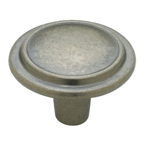 Liberty P40052C-AI-C 1-1/4-Inch Top Ring Round Cabinet Hardware Knob by Liberty -