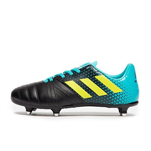Adidas All Blacks Junior (SG), Zapatillas de Rugby Unisex niño, (Agalre/Amasho/Negbás 000), 38 EU