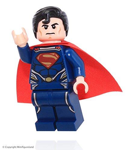 Lego DC Comics Super Heroes Superman: la Huida da Black Zero–Gioco di Costruzioni, Comics, Qualsiasi Genere, Multi