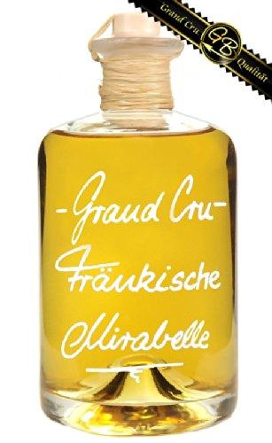 Grand Cru Fränkische Mirabelle Sehr fruchtig & weich 0,5L 40%Vol Mirabellenbrand Schnaps Obstler