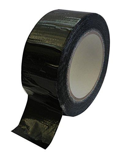 2 Rollen Profi Gewebeband Extra stark 50m:48mm Allzweckband schwarz