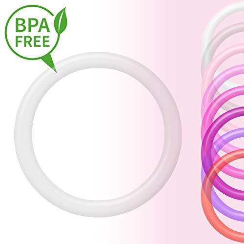 O-Ring   Silikonring   Adapter für Schnuller ohne Henkel   transparent Mädchen -