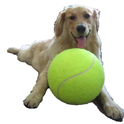 CHUNXU 24,1 cm Hundespielzeug Tennisball groß Pet Spielzeug für Hunde Kauspielzeug Signature Mega Jumbo Kinder Spielzeug Ball für Hunde Pet Training Supplies 24,1 cm -