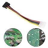 nider 4Pin IDE Molex auf 2x 15-Pin Serial ATA SATA HDD Power Adapter Splitter Kabel Büro Arbeit Anschluss Computer und Anschluss