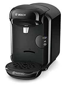 Bosch TAS1402 Tassimo Vivy 2 Kapselmaschine (1300 Watt, über 40 Getränke, vollautomatisch, einfache Zubereitung, platzsparend, Behälter 0,7 L) schwarz