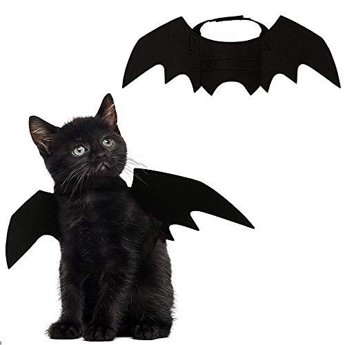 MOGOI Animaux de Compagnie Bat Wings, Halloween Costume Chauve-Souris pour Chiens, Chats, Halloween (1 PCS)