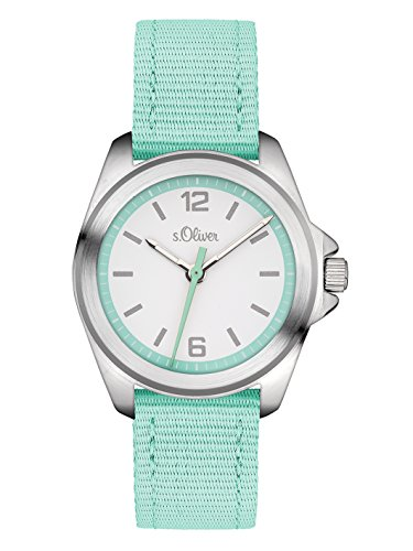 s.Oliver Unisex-Armbanduhr Analog Quarz Textil SO-3230-LQ