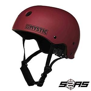 416517Apy8L. SS300  - Mystic Watersports - Surf KiteSurf & Windsurfing MK8 Watersports Helmet Often Used for Kayak Canoe Kitesurf Windsurf and