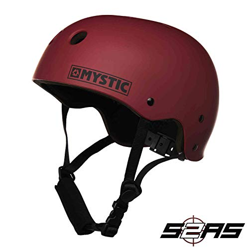 416517Apy8L. SS500  - Mystic Watersports - Surf KiteSurf & Windsurfing MK8 Watersports Helmet Often Used for Kayak Canoe Kitesurf Windsurf and
