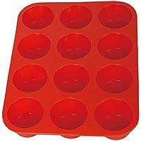 Kuke 6/12 stampini in Silicone per Muffin Mini Teglia Stampo