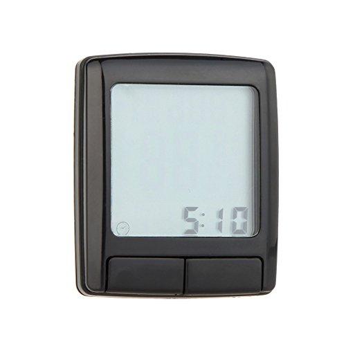 tourwin Cyclisme Vélo Écran LCD ordinateur odomètre indicateur de vitesse avec moniteur de fréquence cardiaque sans fil Testeur de sangle de poitrine