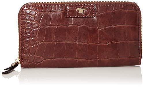 TOM TAILOR für Frauen Taschen & Geldbörsen Portemonnaie Miri Croc braun/brown, OneSize